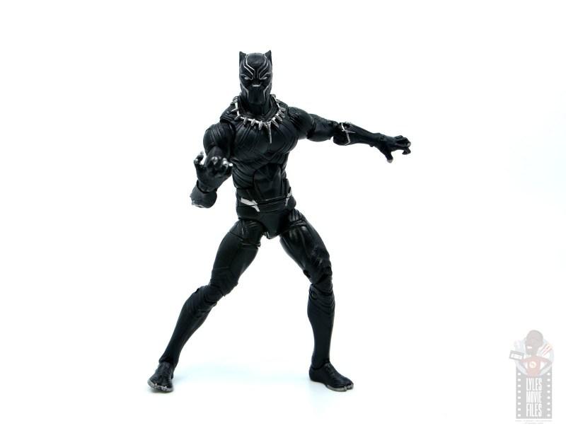 marvel legends black panther civil war 2019 figure review -battle stance