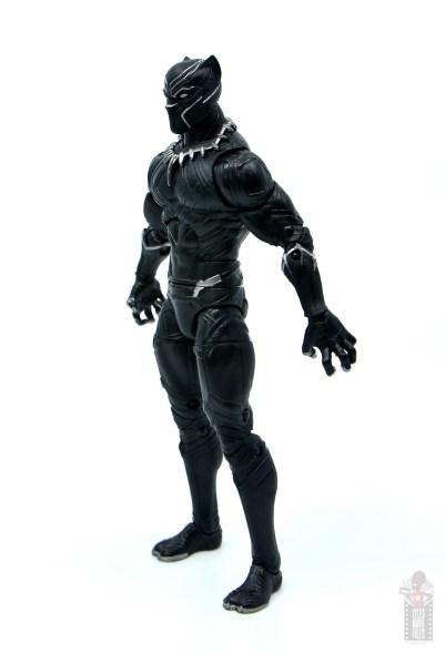 marvel legends black panther civil war 2019 figure review - left side