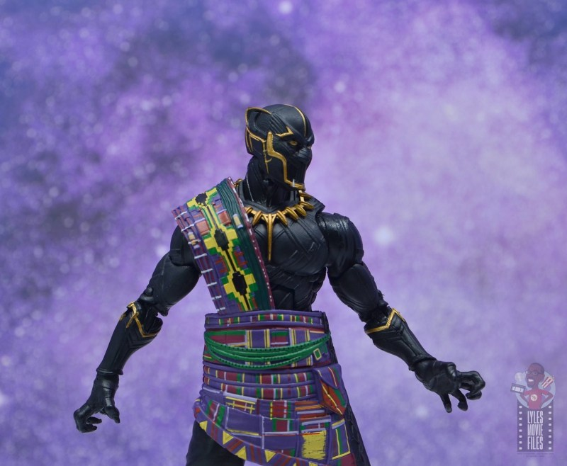 marvel legends black panther t'chaka figure review - at home with the ancestors