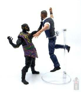 marvel legends black panther t'chaka figure review - choking klaue