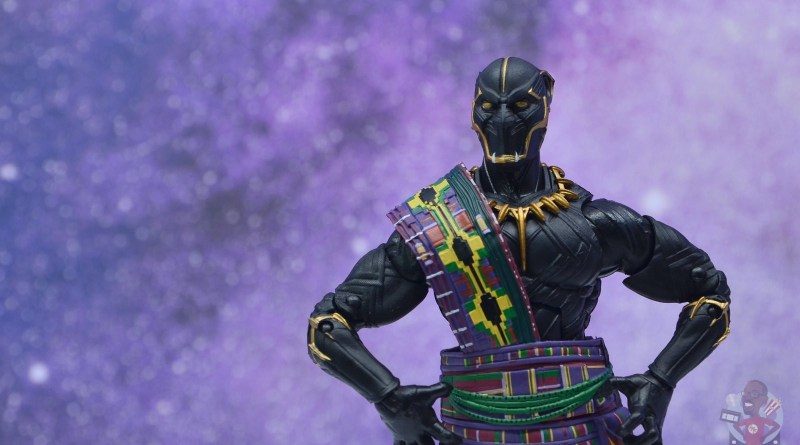 marvel legends black panther t'chaka figure review - in the veldt