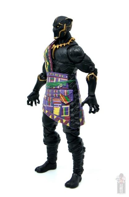 marvel legends black panther t'chaka figure review - left side