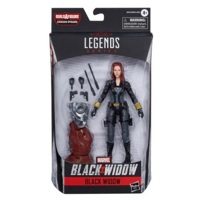 marvel legends black widow wave - black widow package