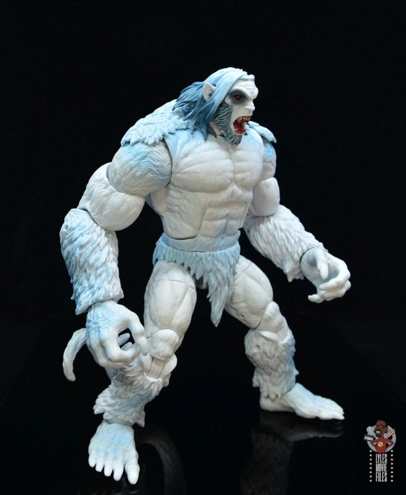 marvel legends wendigo figure review - wide stance