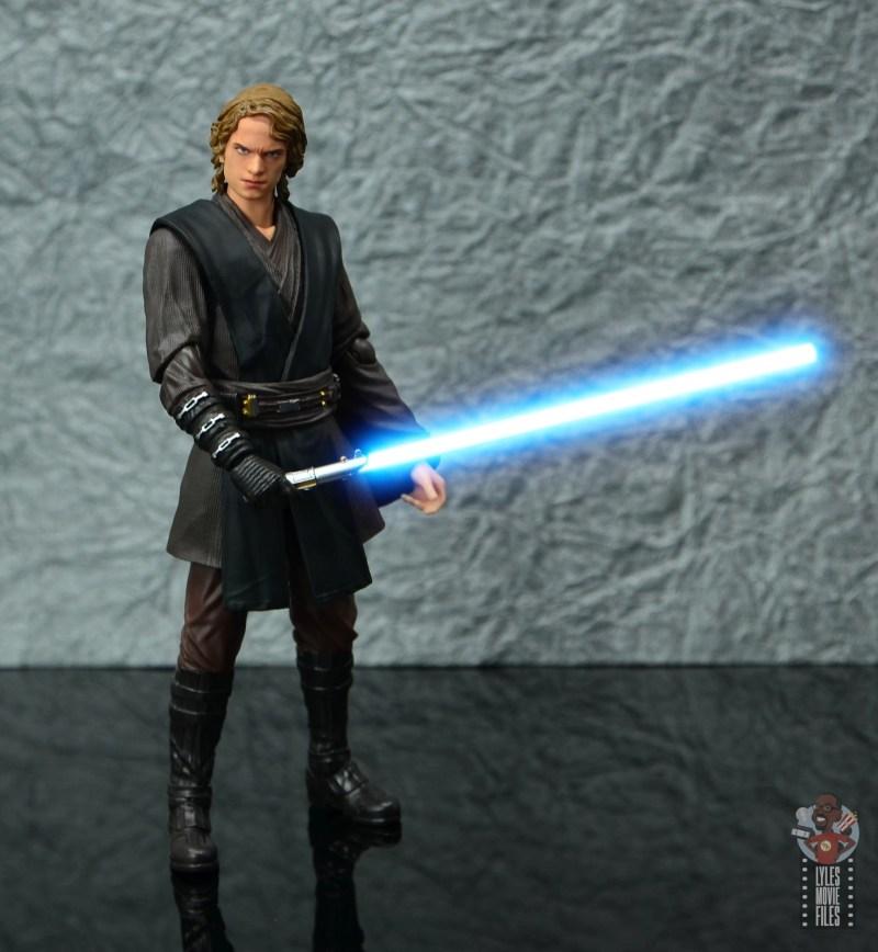 sh figuarts anakin skywalker revenge of the sith figure review -battle stance