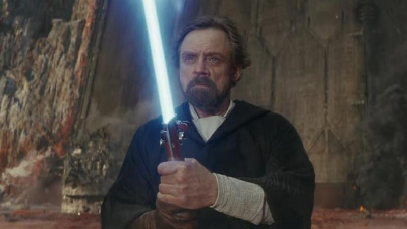 star wars - last jedi luke skywalker