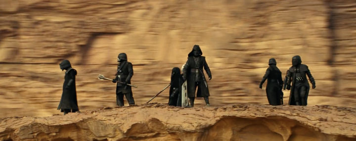 star wars the rise of skywalker -knights of ren