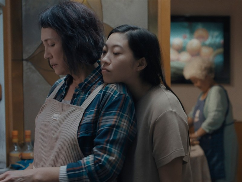 the farewell movie review - diana lin and awkwafina