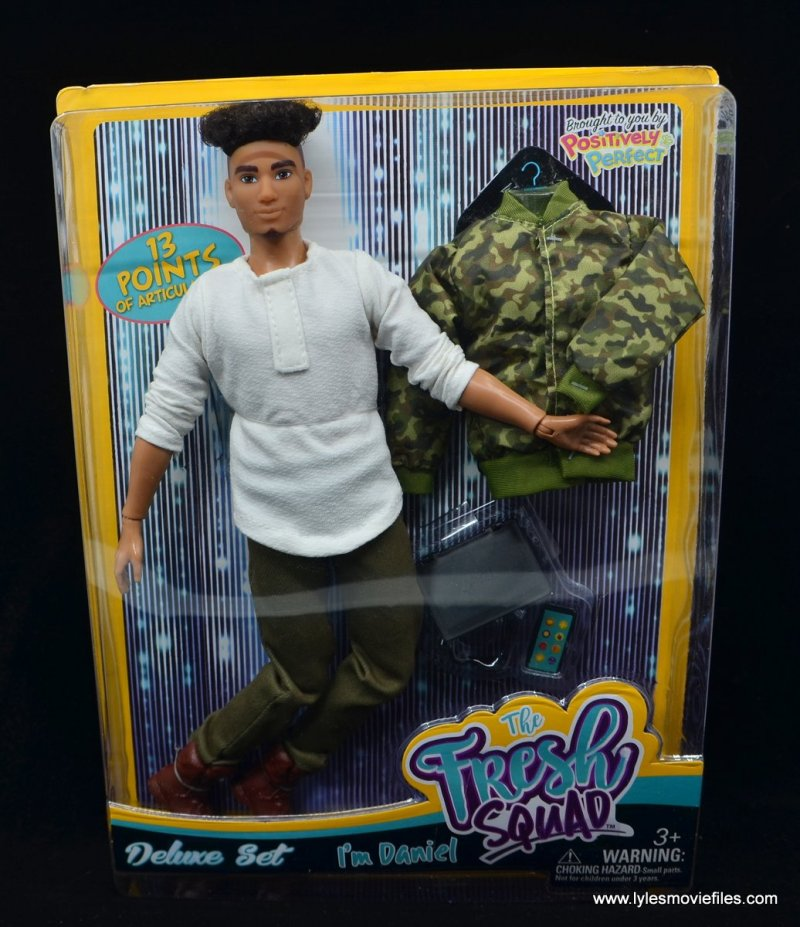 the fresh squad daniel figure review -package front