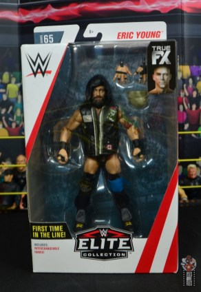 wwe elite 65 eric young figure review - package front