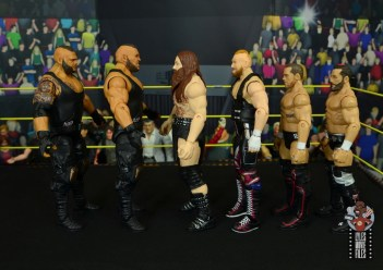 wwe elite killian dain figure review - facing authors of pain, alexander wolfe and undisputed era
