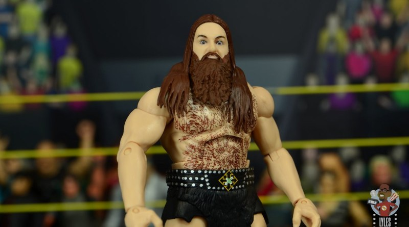 wwe elite killian dain figure review -main pic