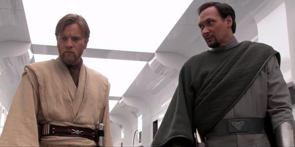 Obi-Wan and Bail Organa