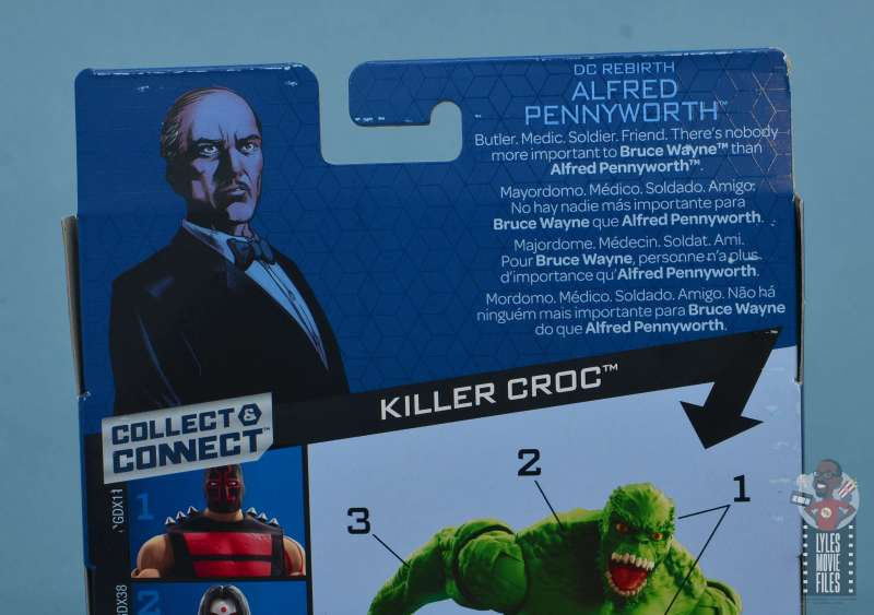 dc multiverse alfred figure review - package bio