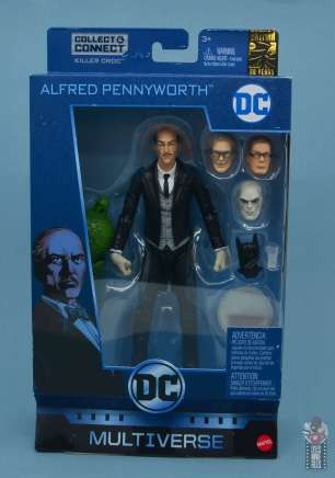 dc multiverse alfred figure review - package front