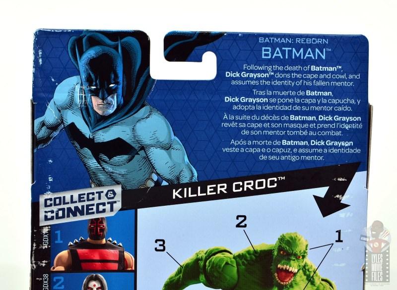 dc multiverse dick grayson batman figure review - package bio