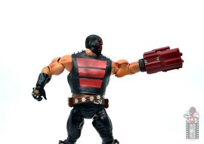 dc multiverse kgbeast figure review - arm cannon detail