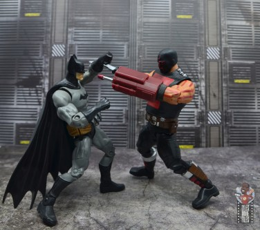 dc multiverse kgbeast figure review - going on the attack against batman