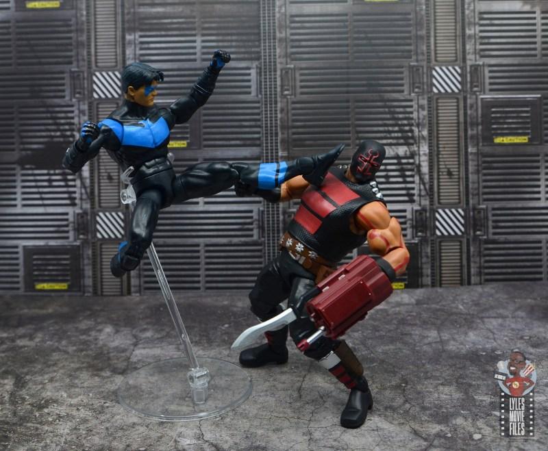 dc multiverse kgbeast figure review - nightwing's revenge