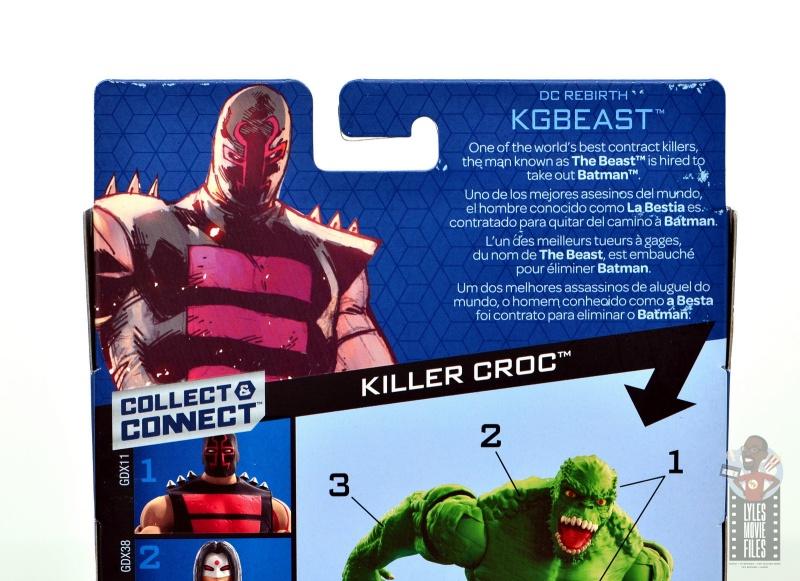 dc multiverse kgbeast figure review - package bio