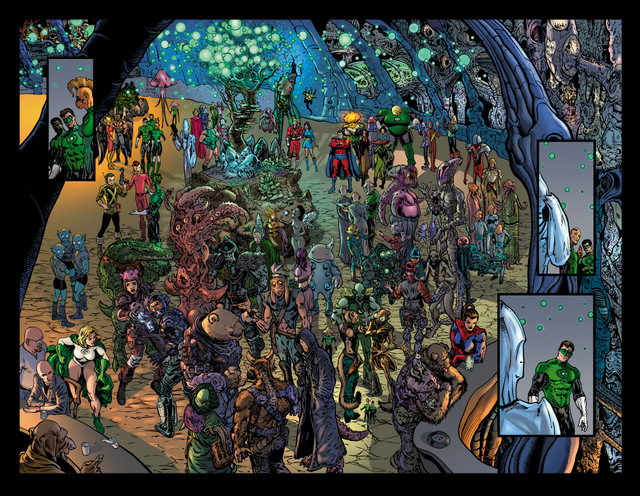 green lantern season 2 pages 6-7