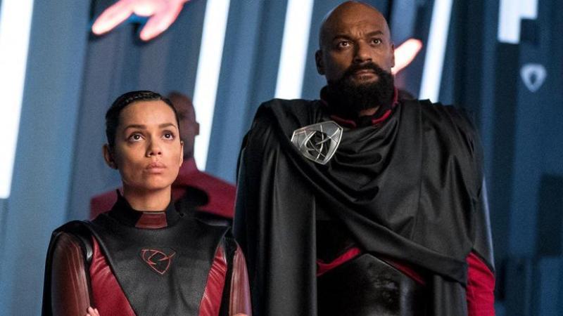krypton season 2 review - lyta-zod and general zod