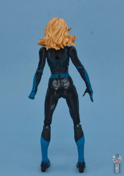 marvel legends invisible woman figure review - rear
