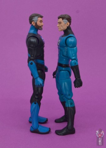marvel legends mister fantastic figure review - facing walgreens mister fantastic