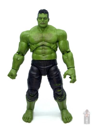 marvel legends smart hulk figure review - front