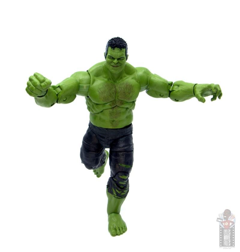 marvel legends smart hulk figure review - running
