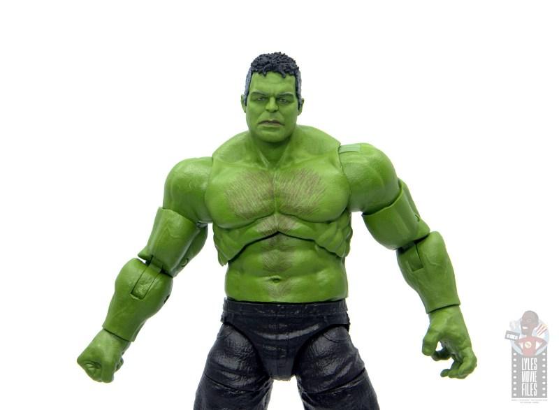 marvel legends smart hulk figure review - wide shot