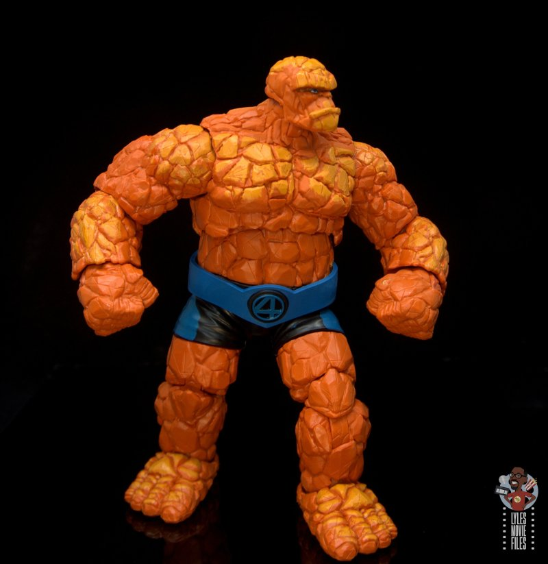 marvel legends the thing figure review - pivoting