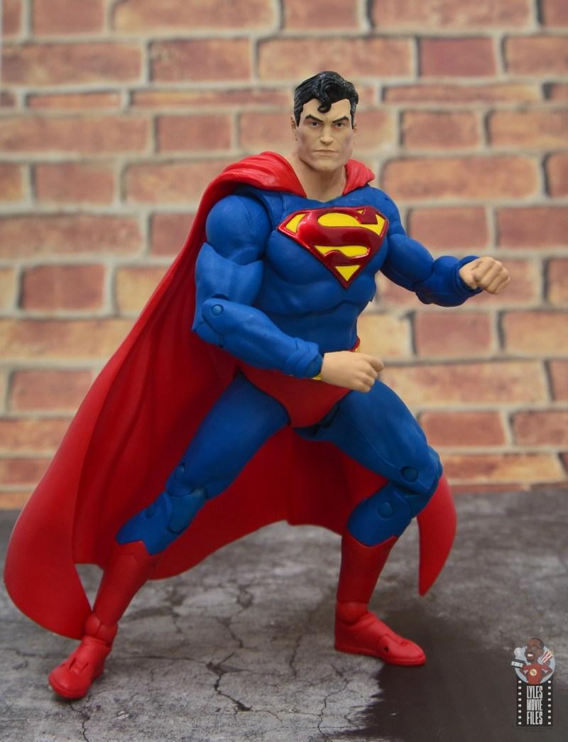 mcfarlane toys dc multiverse superman figure review - battle stance