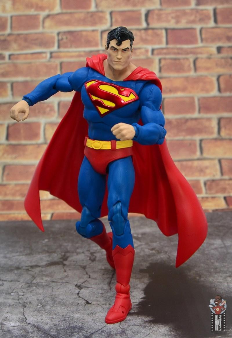 mcfarlane toys dc multiverse superman figure review - charging forward