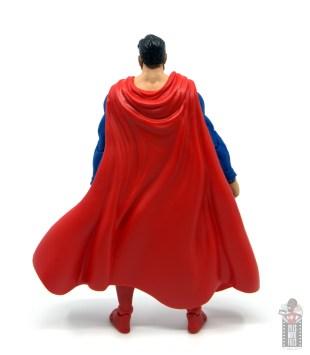 mcfarlane toys dc multiverse superman figure review - rear