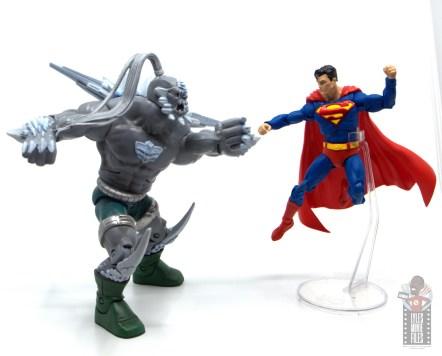 mcfarlane toys dc multiverse superman figure review -vs doomsday