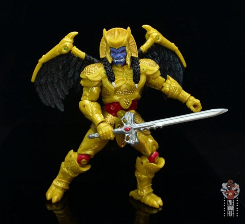 power rangers lightning collection goldar figure review - battle stance