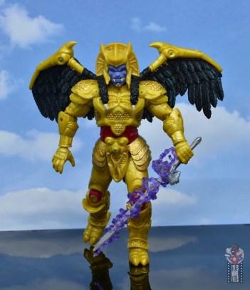 power rangers lightning collection goldar figure review - lightning effect on sword