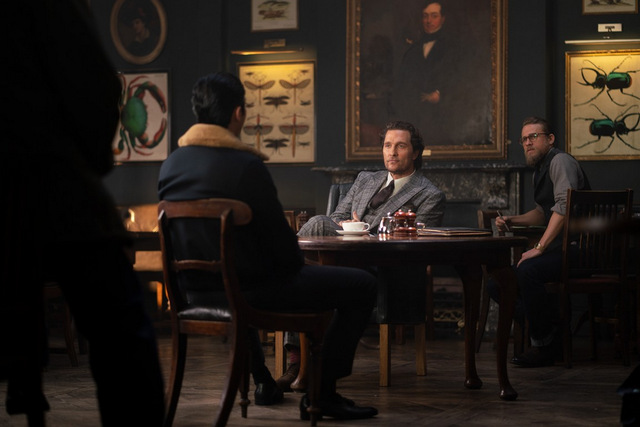 the gentlemen review - henry golding, matthew mcconaughey and charlie hunnam