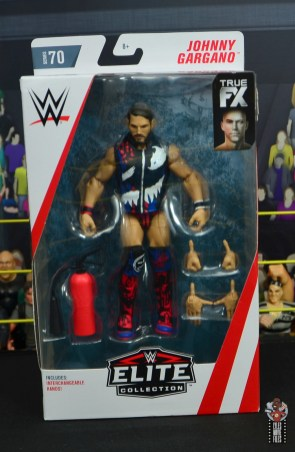 wwe elite 70 johnny gargano figure review - package front