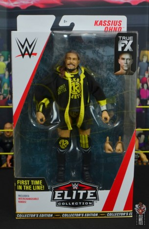 wwe elite 70 kassius ohno figure review -front package
