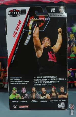 wwe elite 71 the big show figure review - package rear