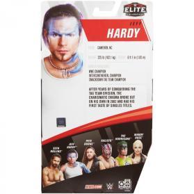 wwe elite 75 - jeff hardy figure -package rear