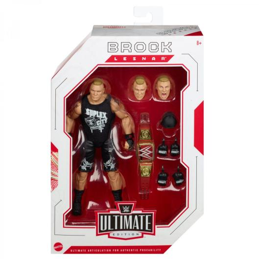 wwe ultimate edition brock lesnar -front package