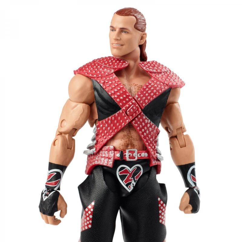 wwe ultimate edition shawn michaels -close up