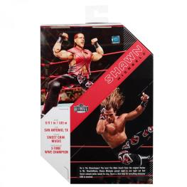 wwe ultimate edition shawn michaels -package rear