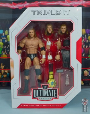 wwe ultimate edition triple h figure review - package front