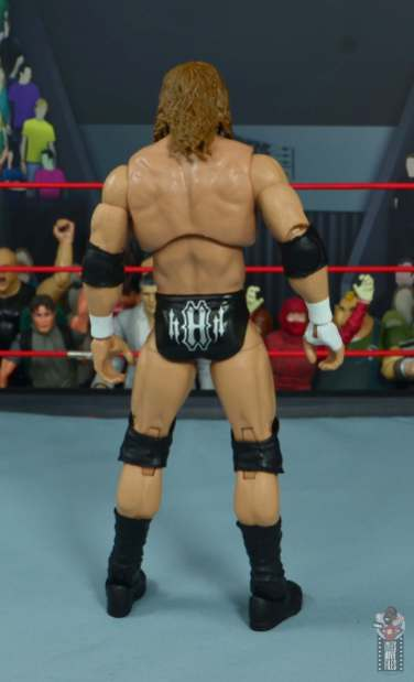 wwe ultimate edition triple h figure review - rear