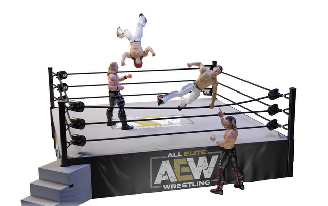 AEW Unrivaled Collection Series ring