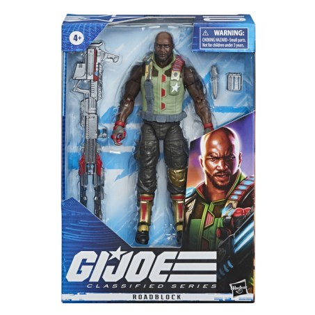 E8491 - GI JOE Classified Series Roadblock Figure - IP